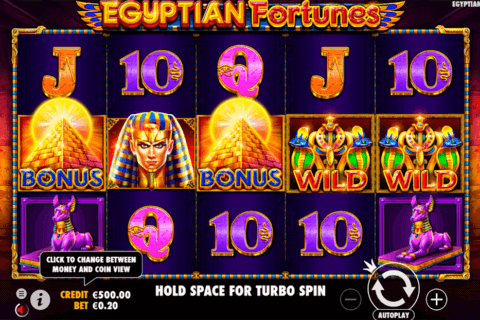 EGYPTIAN FORTUNES PRAGMATIC CASINO SLOTS