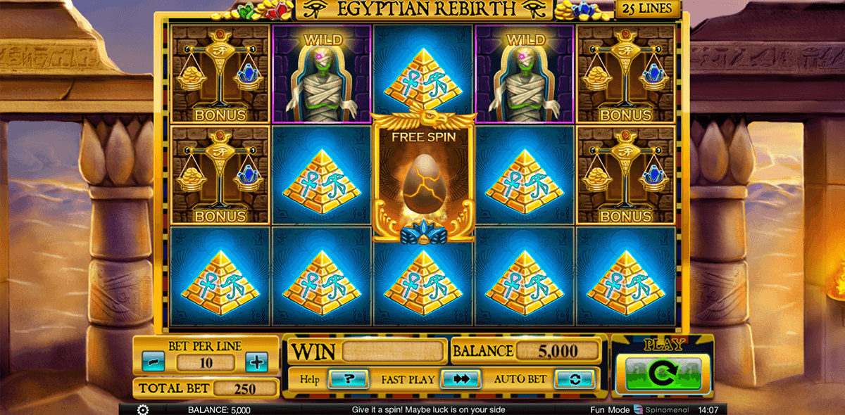Slot Machine Egyptian Gratis