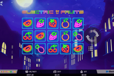 ELECTRIC 7 FRUITS MRSLOTTY CASINO SLOTS