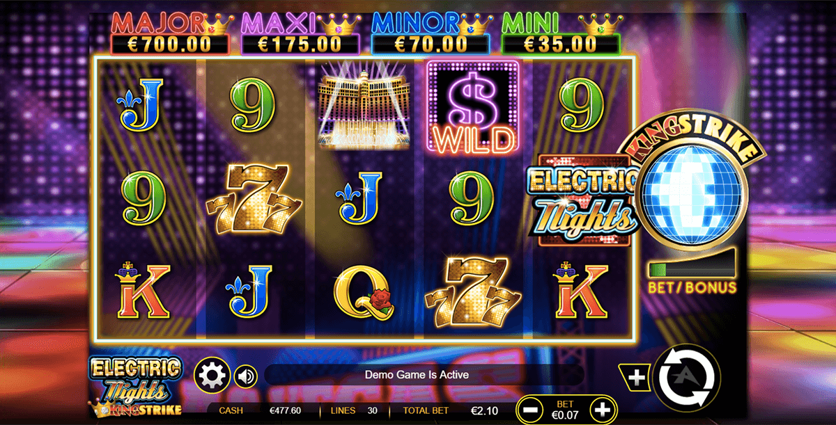 Electric Nights Slot Machine Online ᐈ Ainsworth™ Casino Slots