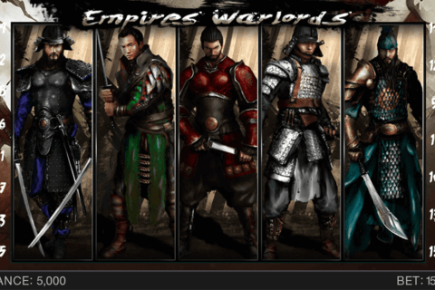 EMPIRES WARLORDS SPINOMENAL CASINO SLOTS