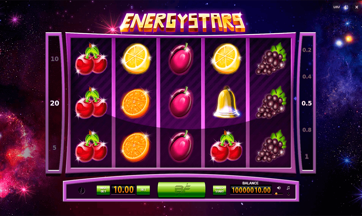 Energy Stars Slots - Play for Free Online with No Downloads