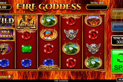 FIRE GODDESS INSPIRED GAMING CASINO SLOTS
