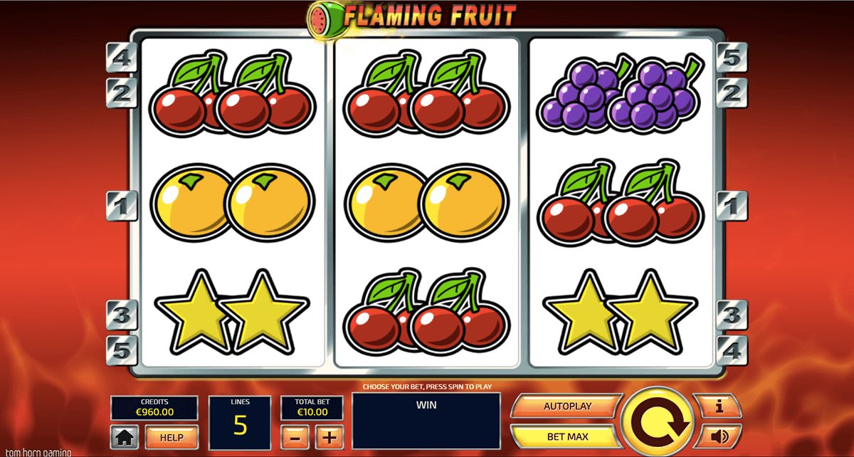 Flaming Fruits Slot Machine - Play Online for Free Instantly