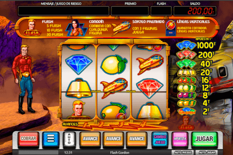 FLASH GORDON MGA CASINO SLOTS