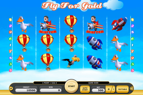 FLY FOR GOLD KAJOT CASINO SLOTS