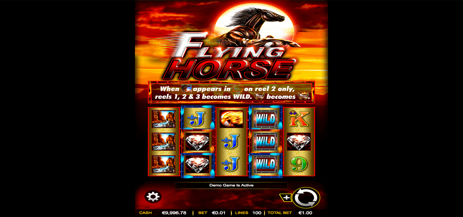 FLYING HORSE AINSWORTH CASINO SLOTS