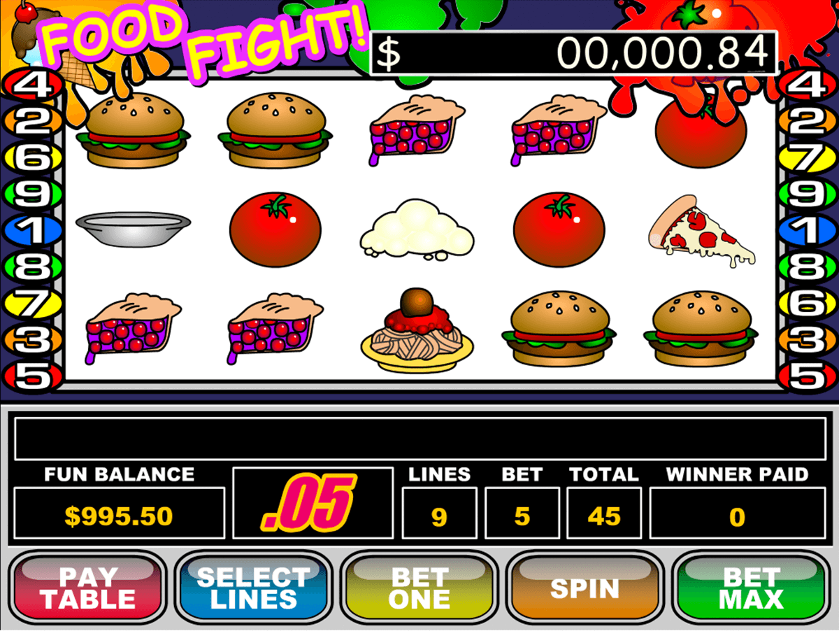 food fight rtg casino slots