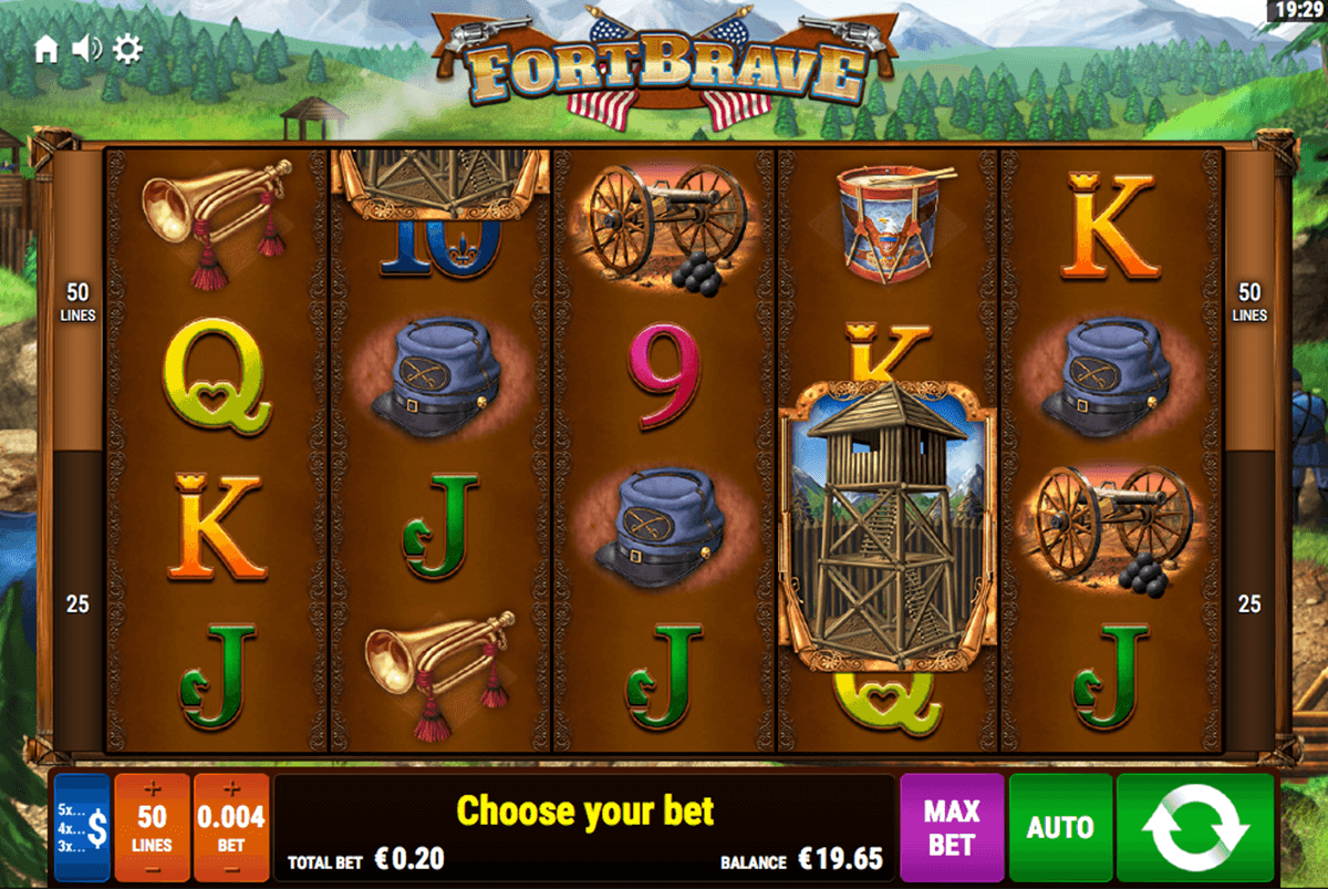 FORT BRAVE BALLY WULFF CASINO SLOTS