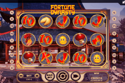 FORTUNE DYNASTY SPINMATIC CASINO SLOTS