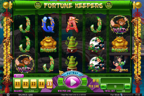 fortune keepers spinomenal casino slots
