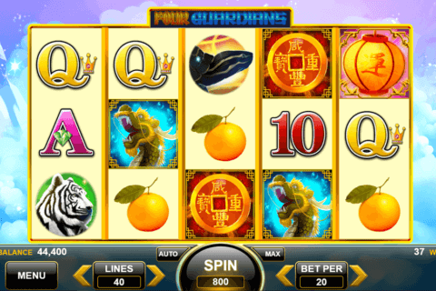 FOUR GUARDIANS SPIN GAMES CASINO SLOTS