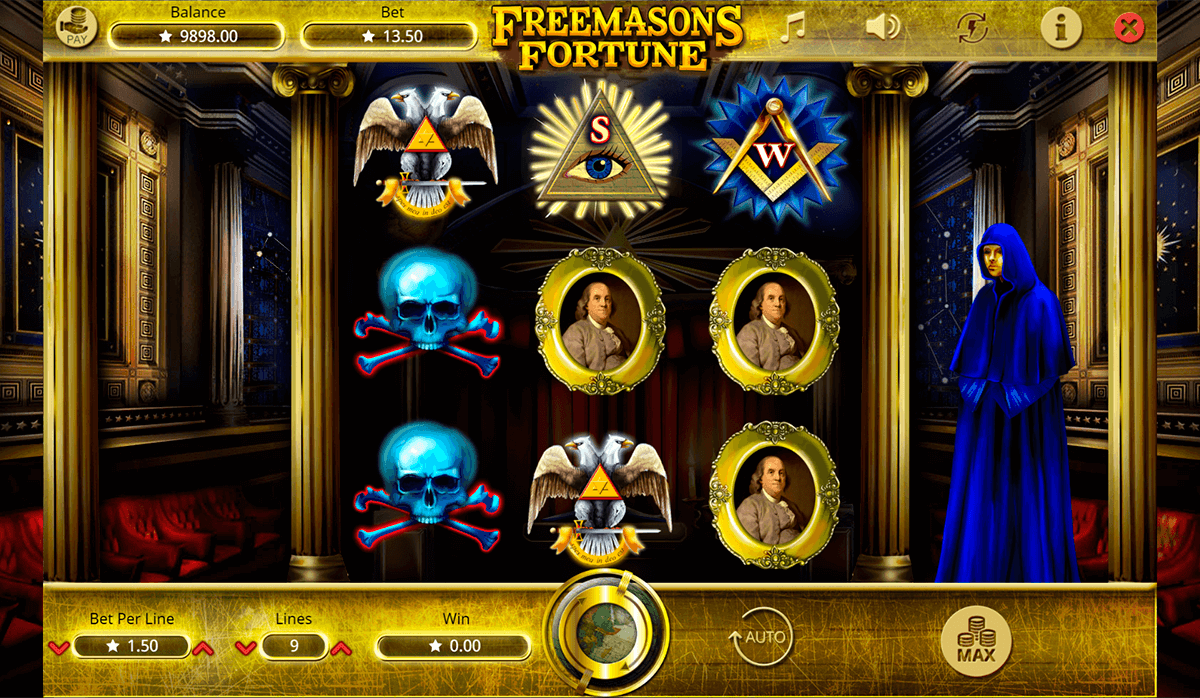 FREEMASONS FORTUNE BOOMING GAMES CASINO SLOTS