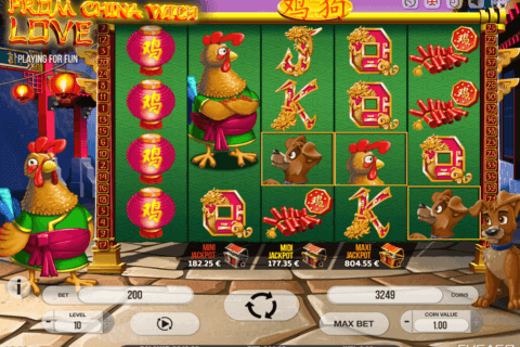 FROM CHINA WITH LOVE FUGASO CASINO SLOTS