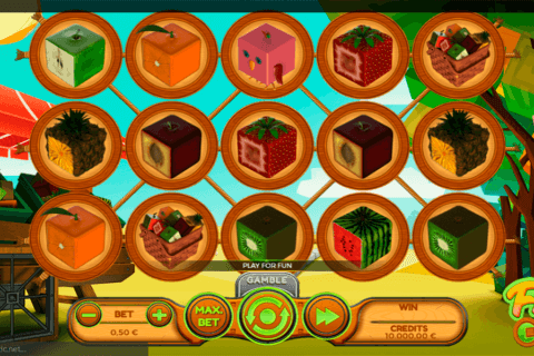FRUIT CUBE SPINMATIC CASINO SLOTS