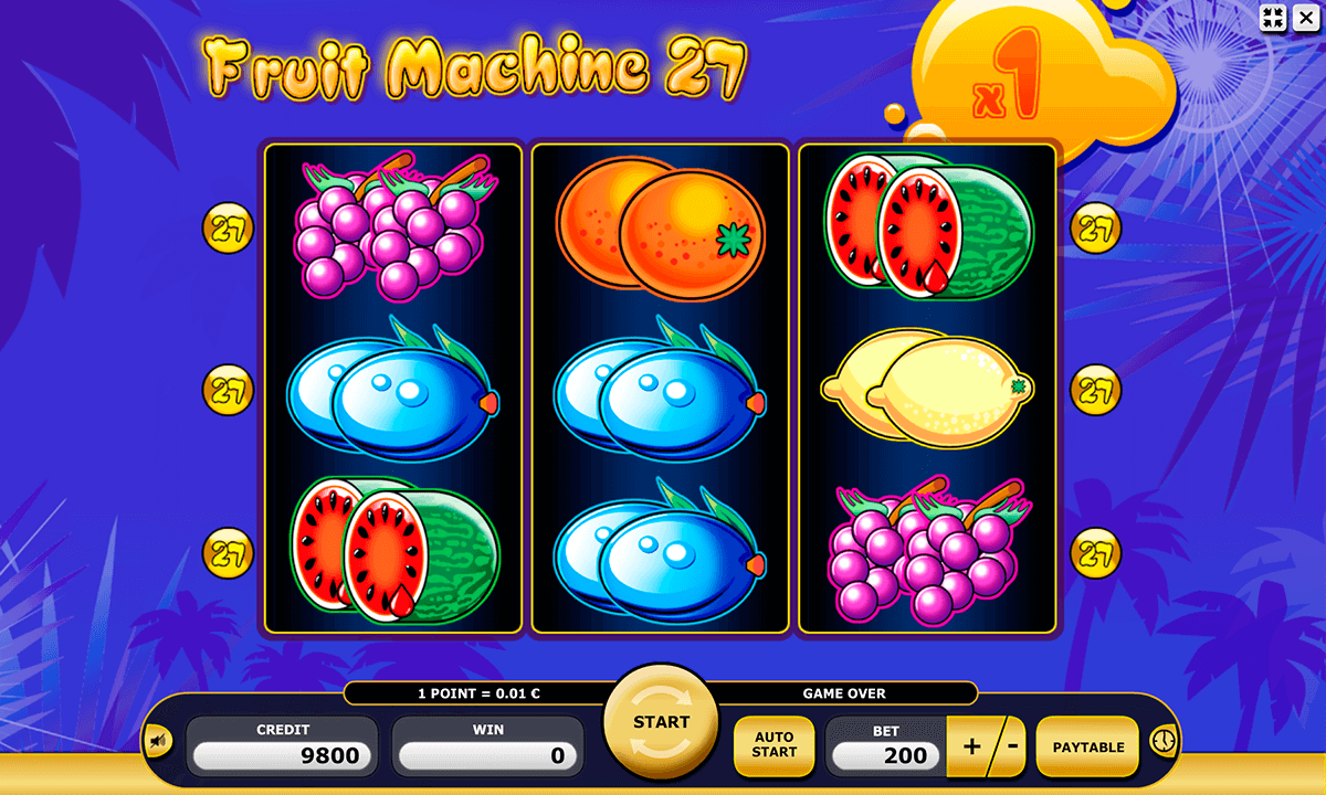 online slot machines fruit spiel