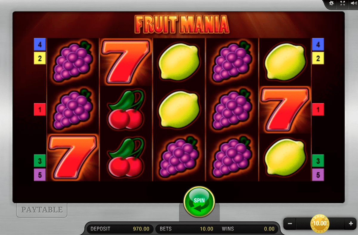 FRUIT MANIA BALLY WULFF CASINO SLOTS
