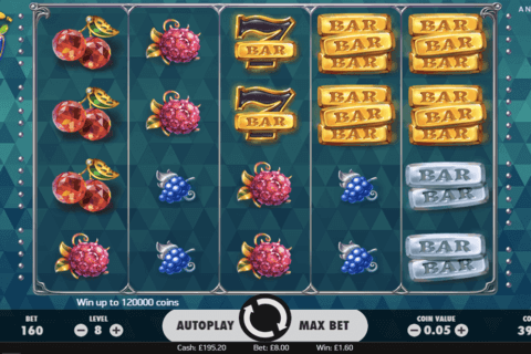 fruit spin netent slot game