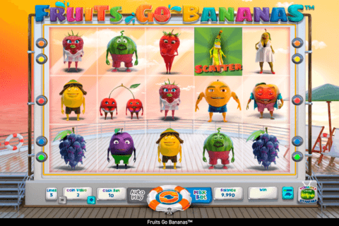 FRUITS GO BANANAS WAZDAN CASINO SLOTS
