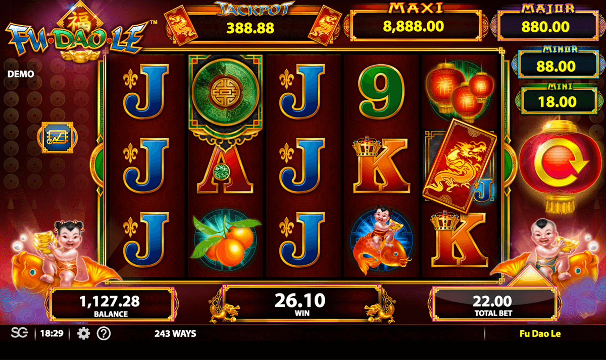 Fu Dao Le Slot Machine Online ᐈ Bally Casino Slots