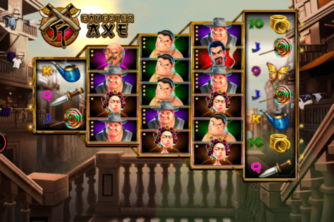GANGSTER AXE SPADEGAMING CASINO SLOTS