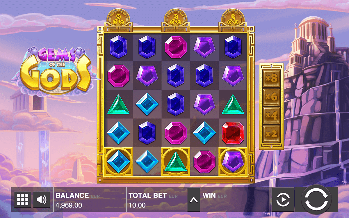Gems of the Gods Slots - Play for Free or Real Money