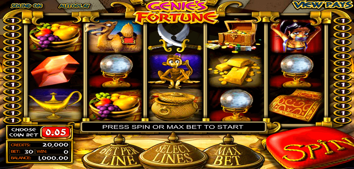 Spiele Genies Fortune - Video Slots Online