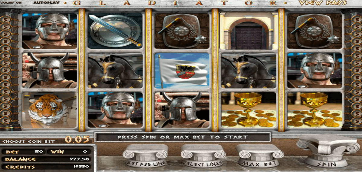 GLADIATOR BETSOFT CASINO SLOTS