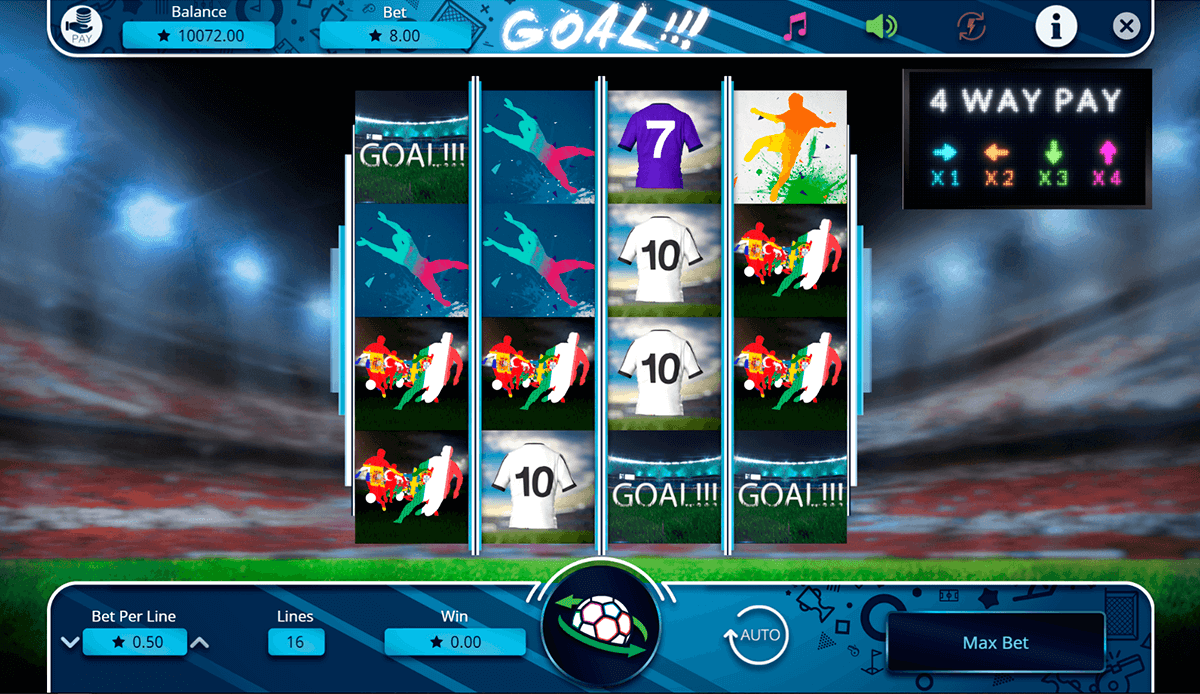 Goal! Slots - Play Online Video Slot Games for Free