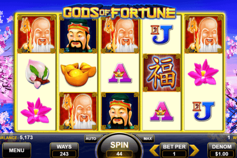 GODS OF FORTUNE SPIN GAMES CASINO SLOTS