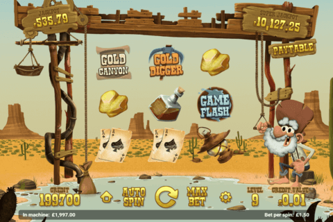 GOLD RUSH MAGNET GAMING CASINO SLOTS