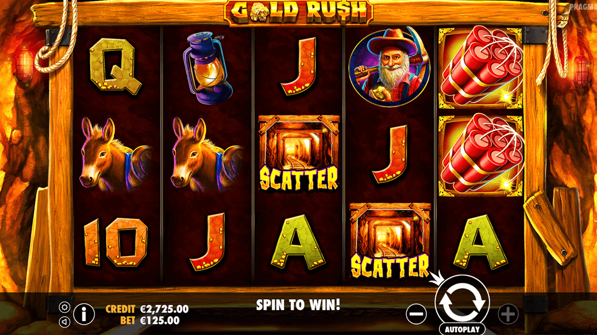GOLD RUSH PRAGMATIC CASINO SLOTS
