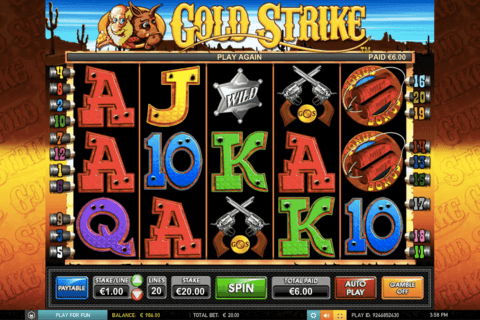 Gold Strike Slot Machine Online ᐈ Leander Games™ Casino Slots