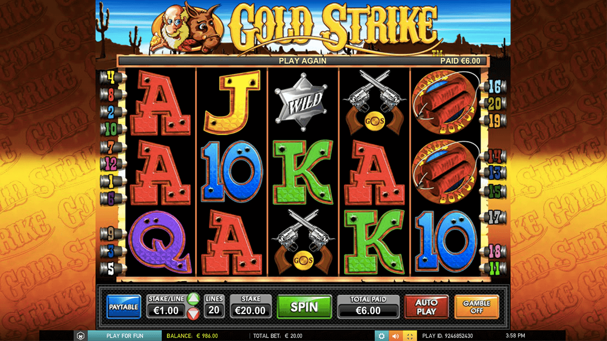 Gold Strike™ Slot Machine Game to Play Free in Microgamings Online Casinos