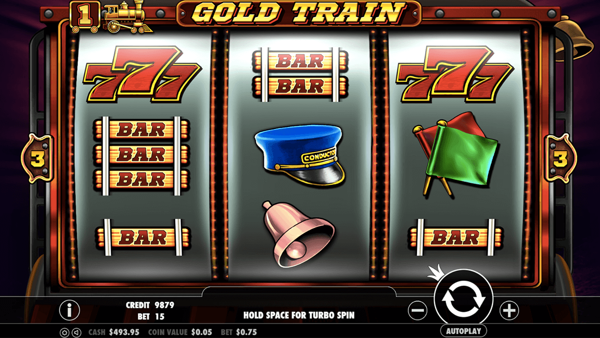 GOLD TRAIN PRAGMATIC CASINO SLOTS