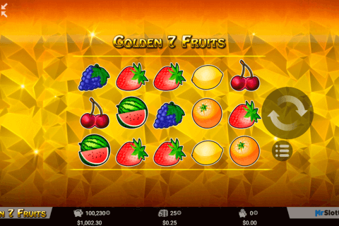 golden 7 fruits mrslotty casino slots