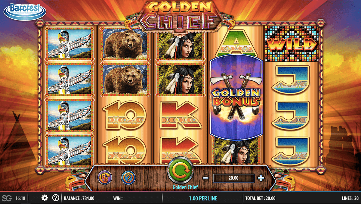 GOLDEN CHIEF BARCREST CASINO SLOTS