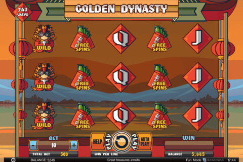 GOLDEN DYNASTY SPINOMENAL CASINO SLOTS