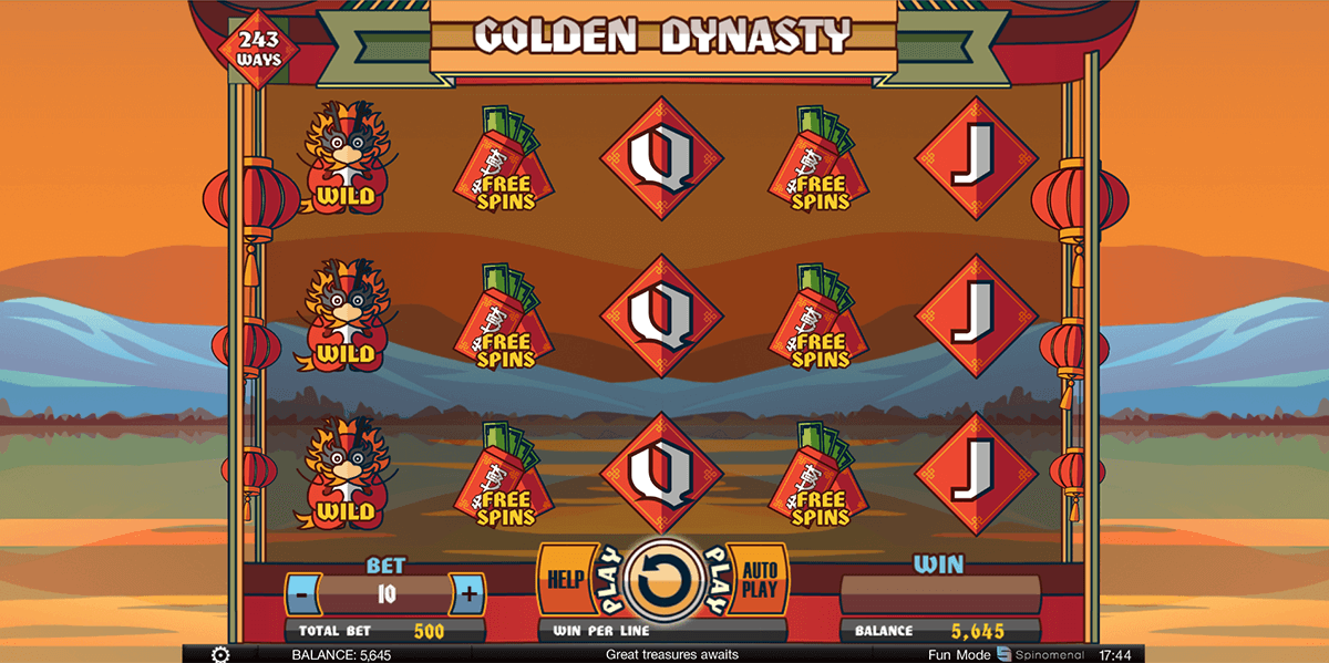 Golden Dynasty Slot Machine - Play Online Slots for Free