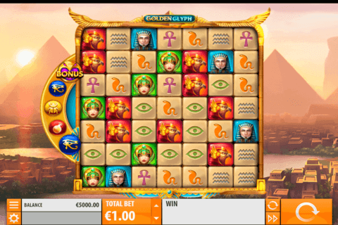 GOLDEN GLYPH QUICKSPIN CASINO SLOTS