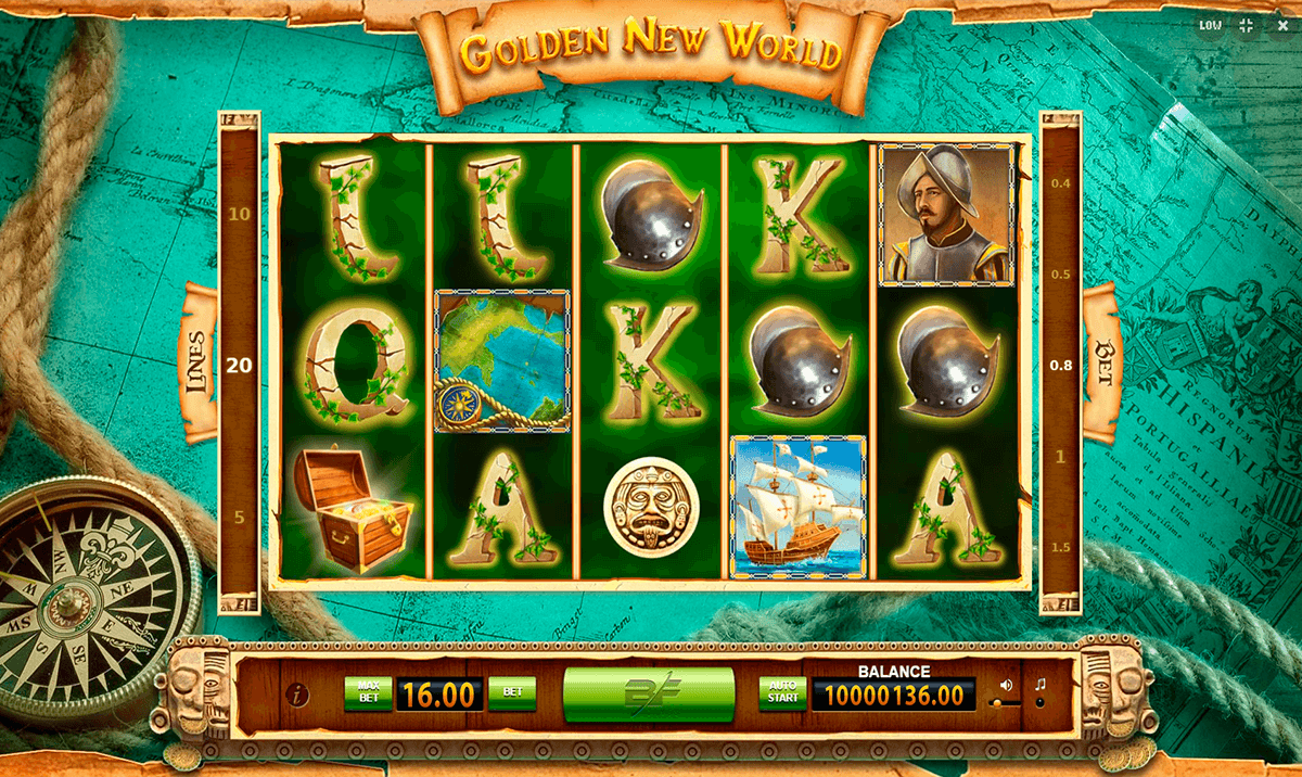 Golden New World Slot Machine Online ᐈ Bf Games Casino Slots