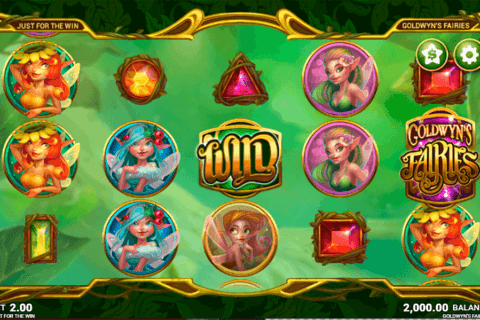 GOLDWYNS FAIRIES JUST FOR THE WIN CASINO SLOTS