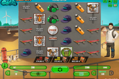 GRAFFITI BLACK PAYS FUGASO CASINO SLOTS