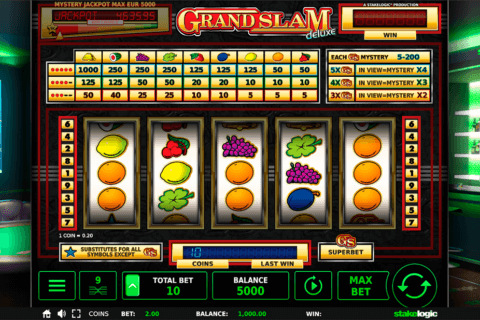GRAND SLAM DELUXE STAKE LOGIC CASINO SLOTS