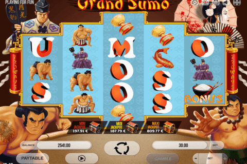 GRAND SUMO FUGASO CASINO SLOTS
