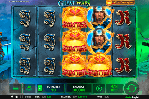 GREAT WARS STAKE LOGIC CASINO SLOTS