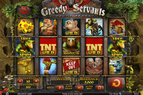 greedy servants spinomenal casino slots