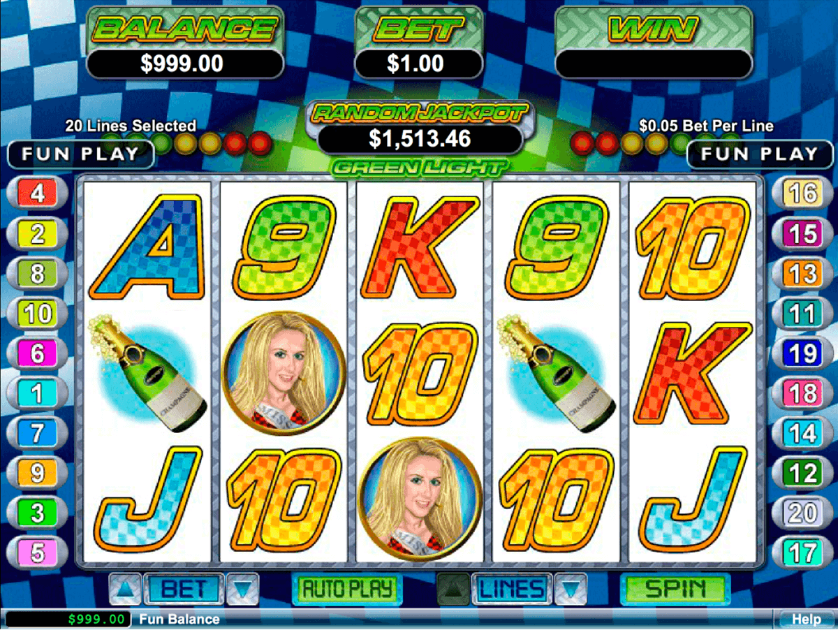 GREEN LIGHT RTG CASINO SLOTS