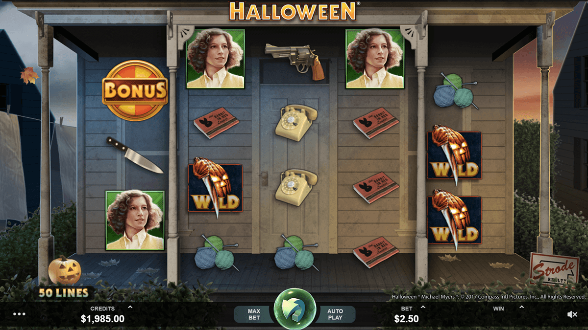 HALLOWEEN MICROGAMING CASINO SLOTS