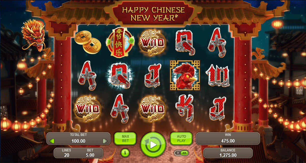 free chinese new year slot machine